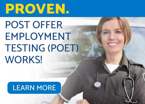 Proven. Post Offer Employment Testing